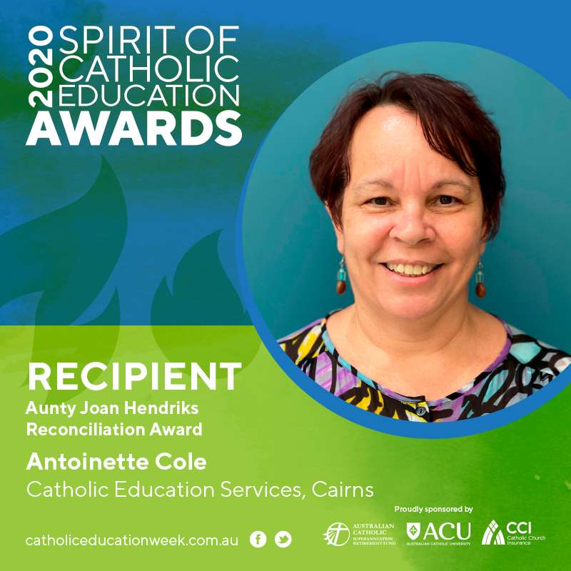 Antoinette Cole (Aunty Joan Hendriks Reconciliation Award)